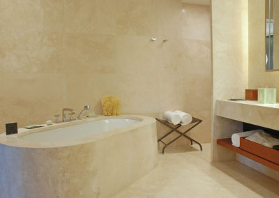 Curved Travertine