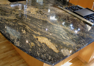 Demi Bullnose Edge Exotic Granite
